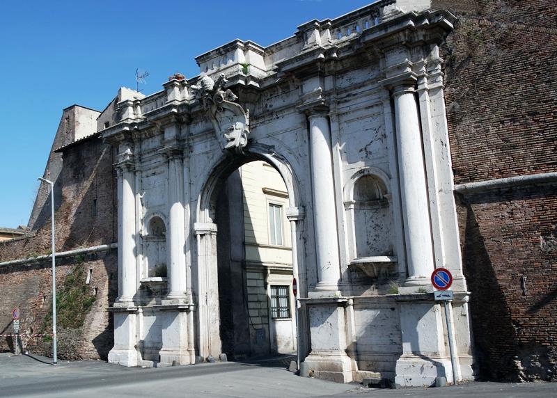 Da Tre Petre Piu La Porta Scultura : Per trastevere medievale laboratorio roma