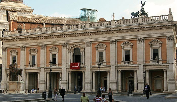 Ai Musei Capitolini Laboratorio Roma